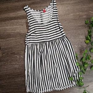 H&M Striped Mini Dress
